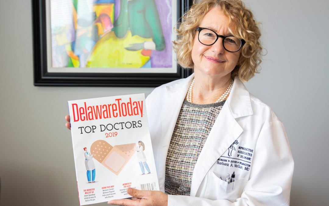 Dr. McGuirk Named Top Doc In Delaware Today 2019