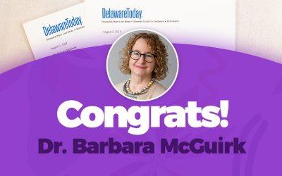 Dr. Barbara McGuirk Named Delaware Today Magazine 2021 Top Doc